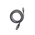 Promaster USB-C to USB-A Braided Cable 1m - grey