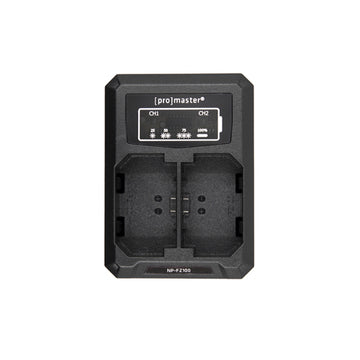 Promaster Dual Charger - USB for Sony NP-FZ100