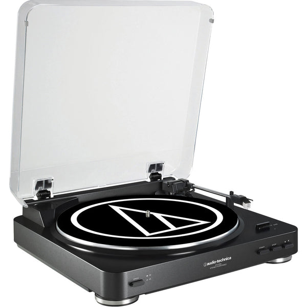 Audio-Technica AT-LP60BK-BT Turntable Bluetooth (Black) w/ extra Stylus ATN3600