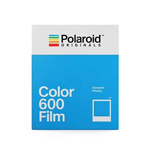 Polaroid Originals Instant Film Color Film for 600, White (4670)