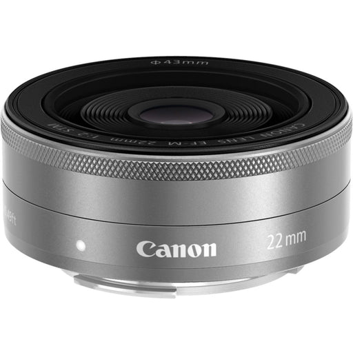 Canon EF-M 22mm f/2 STM - Silver