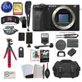 Alpha a6600 Mirrorless Digital Camera (Body Only) with Premium Bundle: Includes – Sandisk Extreme Card, Spare NPFZ100 Battery, Charger for NPFZ100, and 12 inch tripod