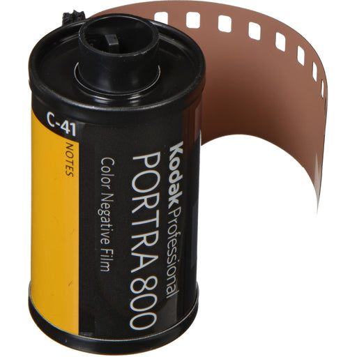 Kodak Professional Portra 800 Color Negative Film | 35mm Size Roll, 36 Exposure - Single Roll