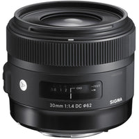 Sigma 30mm f/1.4 DC HSM Art Lens for Canon EF