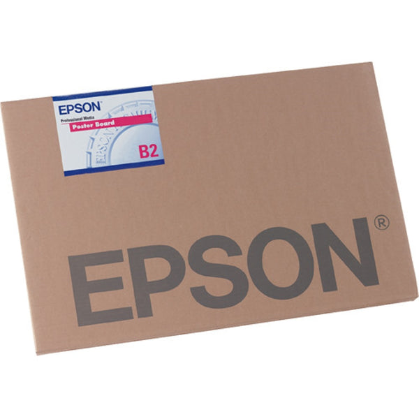 "Epson Enhanced Matte Inkjet Photo Posterboard Paper 30 x 40"" 5 Sheets"