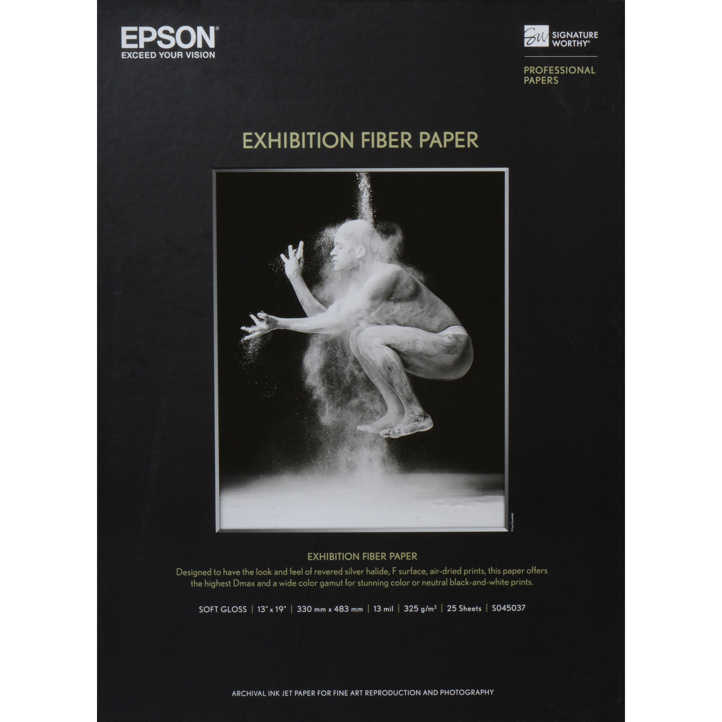 "Epson Exhibition Fiber Paper | 13 x 19"" - 25 Sheets"