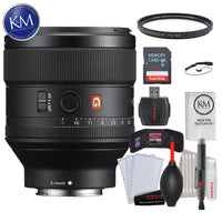 Sony FE 85mm f/1.4 GM Lens w/ 32GB Memory and Lens Bundle
