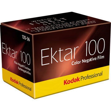 Kodak Professional Ektar 100 Color Negative Film | 35mm Size Roll, 36 Exposure - Single Roll
