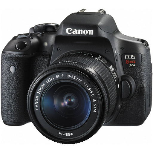 Canon EOS Rebel T6i w/18-55mm f/3.5-5.6 IS STM Kit