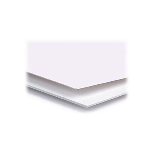 "Archival Methods 97-403 Pearl White Conservation Mat Board 4 Ply | 11 x 14"" - 25 Pack"