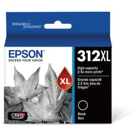 Epson T312XL Black Claria Photo HD Ink Cartridge with Sensormatic