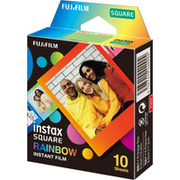 FUJIFILM INSTAX SQUARE Rainbow Instant Film (10 Exposures)
