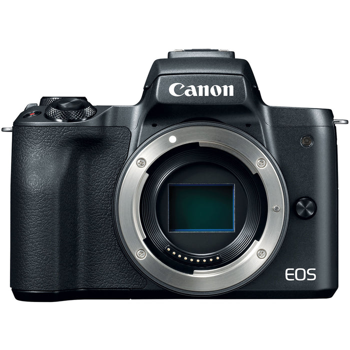 Canon EOS M50 Mirrorless Digital Camera - Body Only (Black)