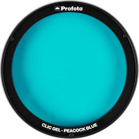 Profoto Clic Gel - Peacock Blue