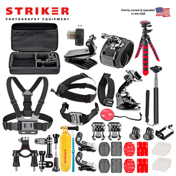 Striker GoPro Accessory Bundle