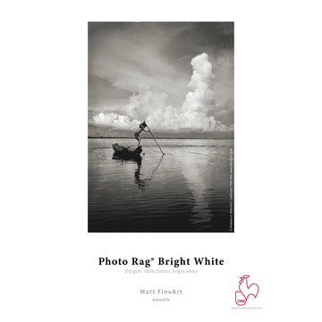 Hahnemuhle Photo Rag Bright White Paper 310gsm | 44 x 39' - Roll