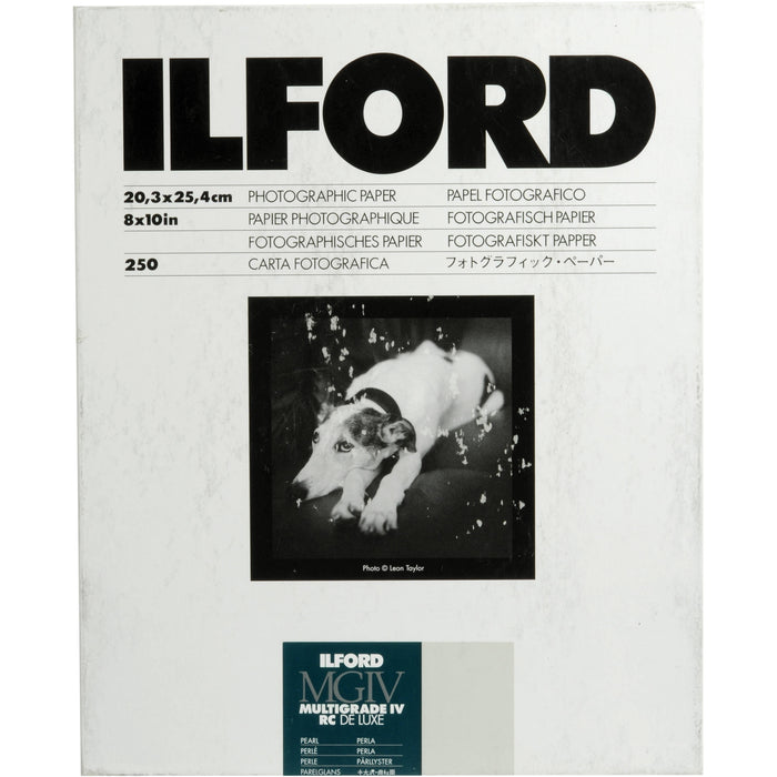 "Ilford Multigrade IV RC Pearl Paper 8 x 10"" - 250 Sheets"