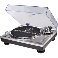 Audio-Technica AT-LP120-USB Direct-Drive Professional Turntable | USB & Analog - Silver