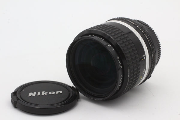 Used Nikon 35mm f2 AIS Used Very Good