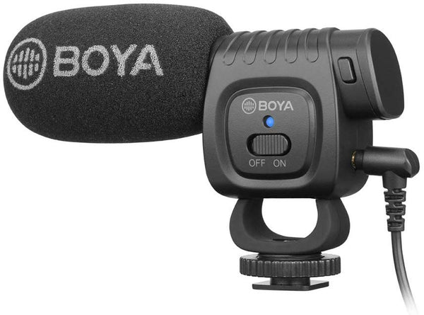 Boya BM3011 Cardioid Condenser Video Microphone for Smartphones and PC