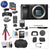 Sony Alpha a6100 Mirrorless Digital Camera (Body Only) with Premium Bundle: Includes – 12 inch Tripod, Flash, Lens Filters, and Corel Software