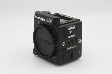 Used Mamiya 645 Super Body Only, No Finder, Used Very Good