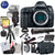 Canon EOS 5D Mark IV DSLR Camera (Body) w/ 64GB Memory and 500mm Lens Striker Deluxe Bundle