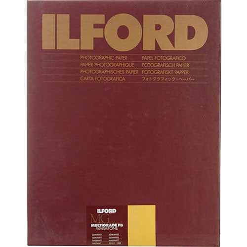 "Ilford Multigrade Fiber Base Warmtone Semimatt Paper 16 x 20"" - 10 Sheets"