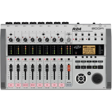 Zoom R24 Multi-Track Recorder, Interface, Controller, & Sampler