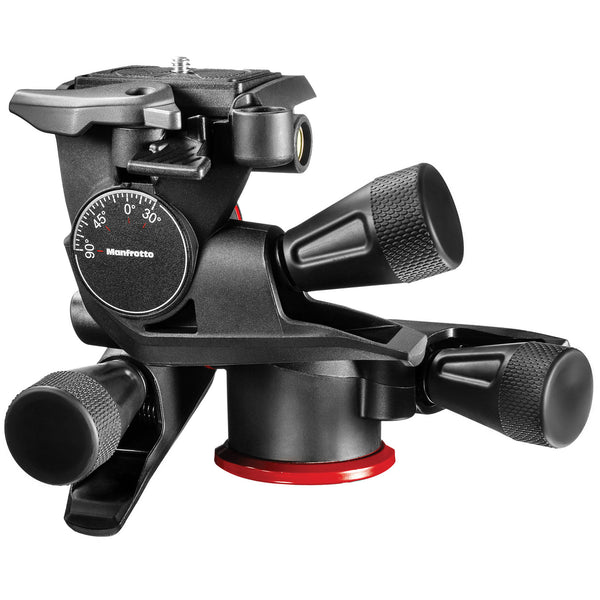 Manfrotto MHXPRO-3WG 3-Way, Geared Pan-and-Tilt Head with 200PL-14 Quick Release Plate