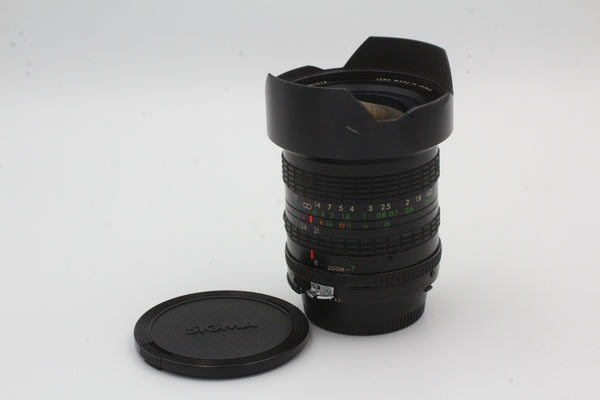 Used Sigma N/AIS 21-35mm f3.5-4 Used Very Good