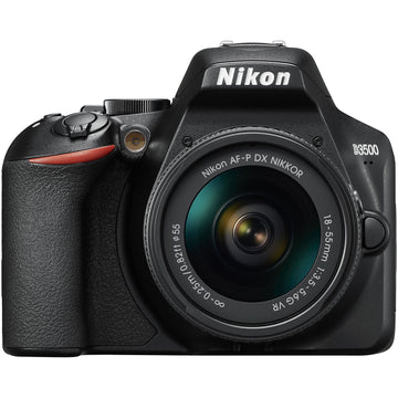 Nikon D3500 DSLR Camera with AF-P DX NIKKOR 18-55mm f/3.5-5.6G VR