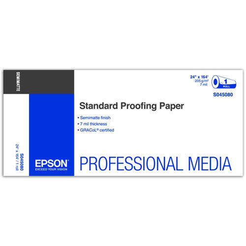 "Epson Standard Proofing Paper | 24"" x 164' - Roll"