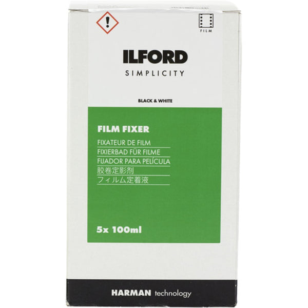 Ilford SIMPLICITY Film Fixer (100mL Sachet, 5-Pack)