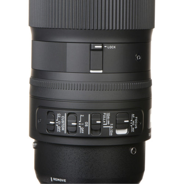 Sigma 150-600mm f/5-6.3 Cont. DG OS HSM & TC-1401 Lens for Canon EF Mount
