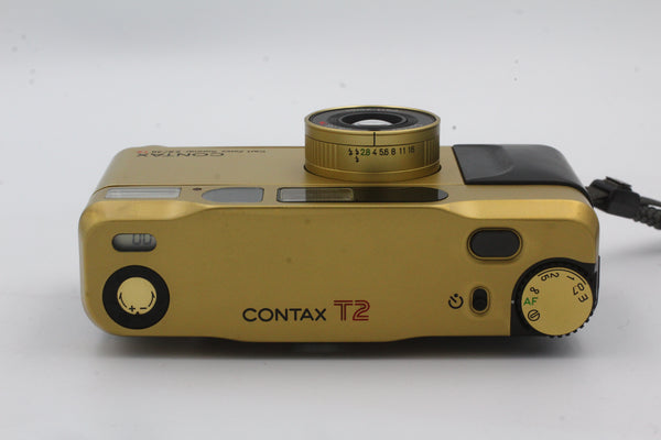 Used Contax T2 Gold Used Very Good
