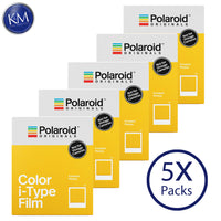 Polaroid Originals Color i-Type Instant Fresh Film (40 Exposures) - 5 Pack