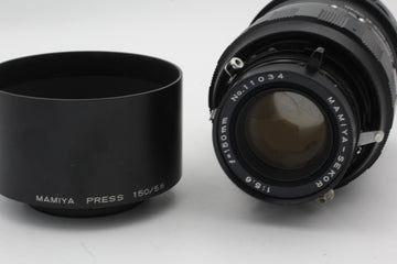Used Mamiya 150mm f5.6 for Universal/Press Used Very Good