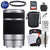 Sony E 55-210mm f/4.5-6.3 OSS Lens (Silver) with Essential Striker Bundle: Includes – SD Card Reader, UV Filter, Cleaning Kit, and Lens Pouch.