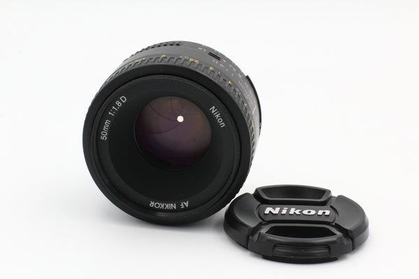 Used Nikon AF 50mm f1.8 Used Very Good