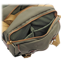 Billingham 335 Camera Bag - Sage with Tan Leather Trim