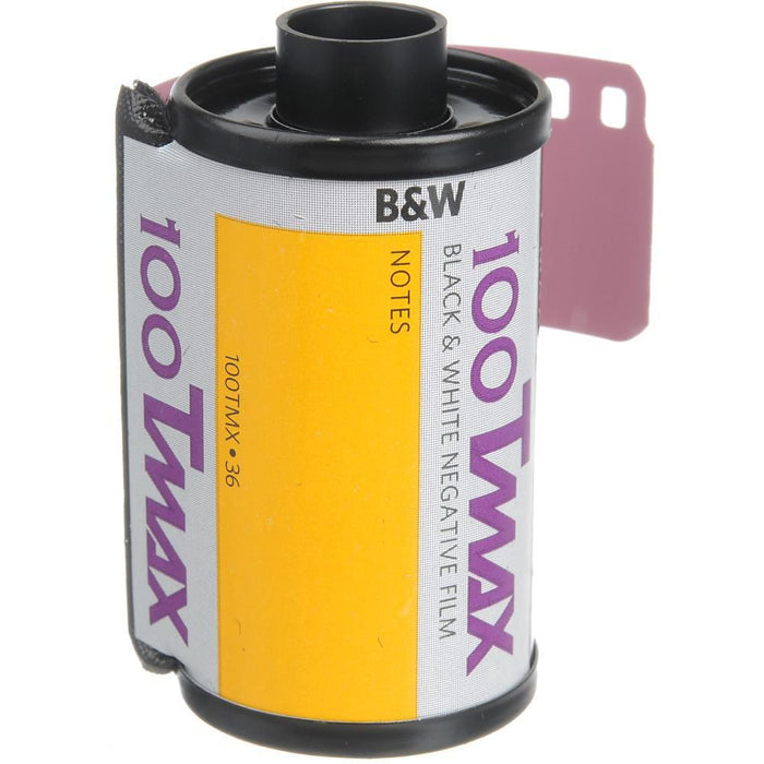 Kodak Professional T-Max 100 Black & White Negative Film | 35mm Size Roll, 36 Exposure - Single Roll