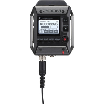 Zoom F1-LP Field Recorder with Lavalier Microphone Package