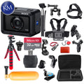 Sony Cyber-shot DSC-RX0 Digital Camera with 38-in-1 Action Bundle