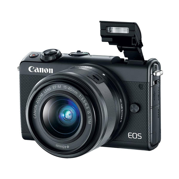 Canon EOS M100 Mirrorless Digital Camera with 15-45mm Lens (Black