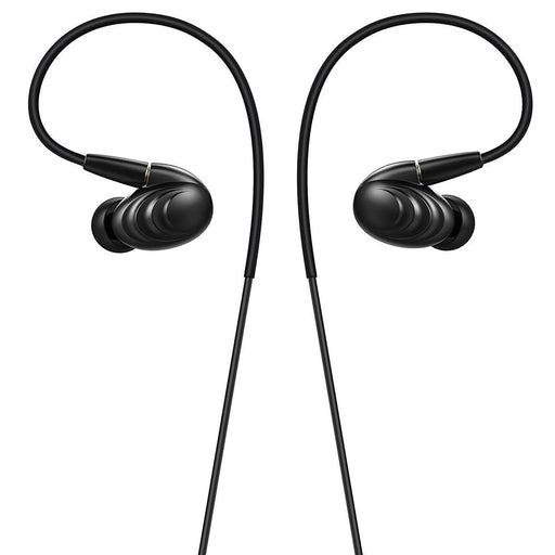 FiiO F9 Dynamic Hybrid Earphone w/Detachable Cables - Black