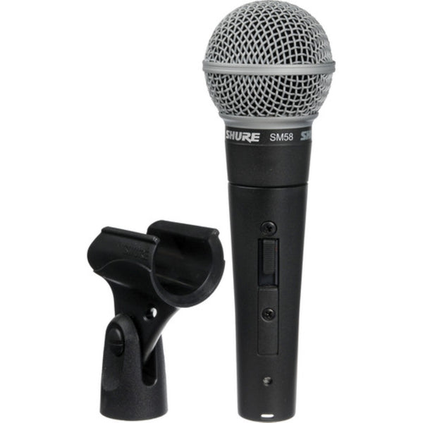Shure SM58S Vocal Microphone with On Off Switch