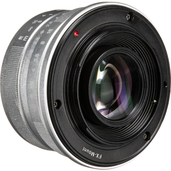 7artisans Photoelectric 25mm f/1.8 Lens for Fujifilm X - Silver