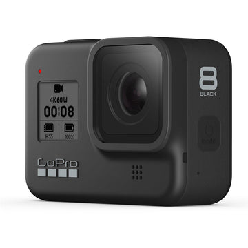 GoPro HERO8 Black Action Camera w/ GoPro Adventure Kit and 64GB Memory Card