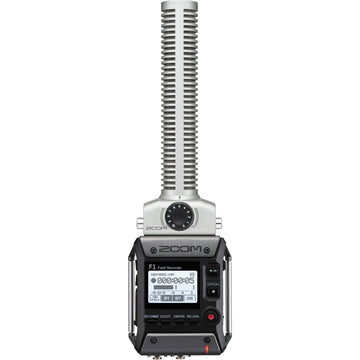 Zoom F1-SP Field Recorder with Shotgun Microphone Package